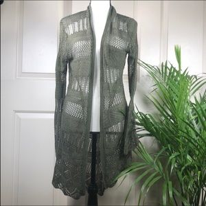 Maurices Knit Duster Cardigan